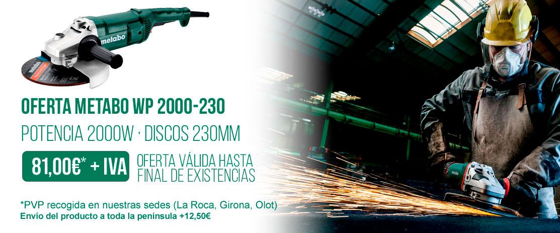 OFERTA METABO WP 2000-230